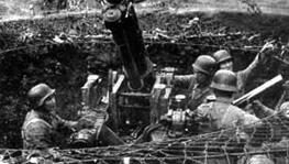 高射炮部队射击日机 破灭日军空中斩首蒋介石