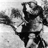 彭德怀在前线指挥抗战