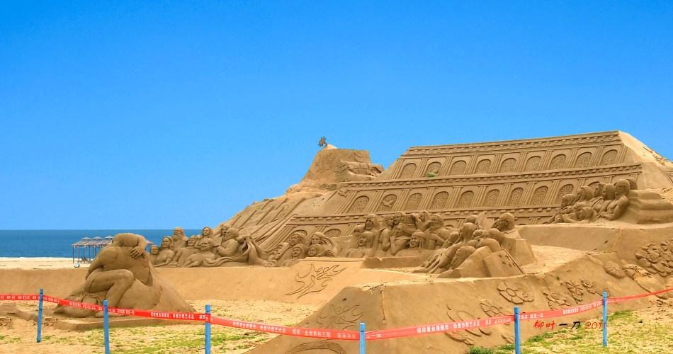 北方唯一的沙雕艺术主题城市公园