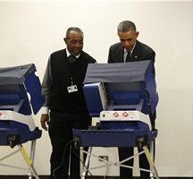 奥巴马遭遇选民调侃:别碰我女友