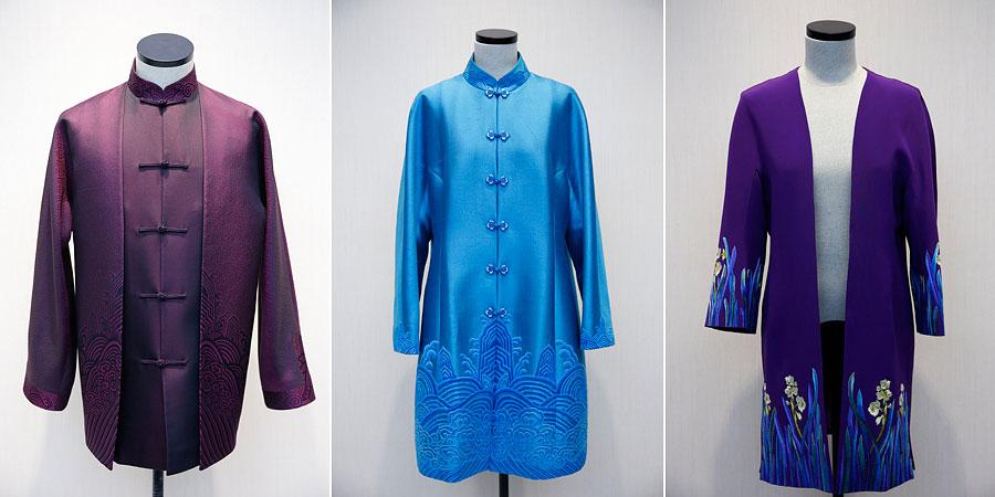 2014APEC会议特色中式服装亮相
