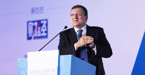 巴罗佐:中国是全球化最大受益者 应积极实现全球化共赢