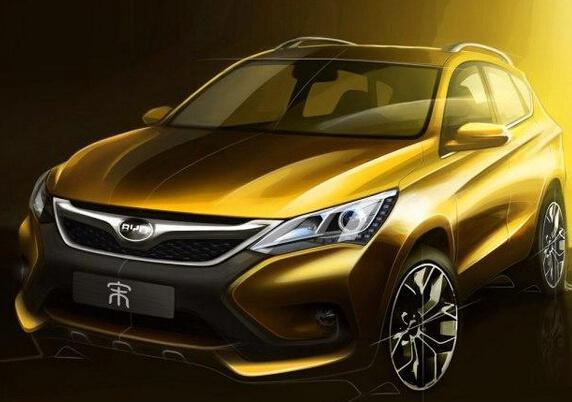 比亚迪宋/元将在上海车展首发