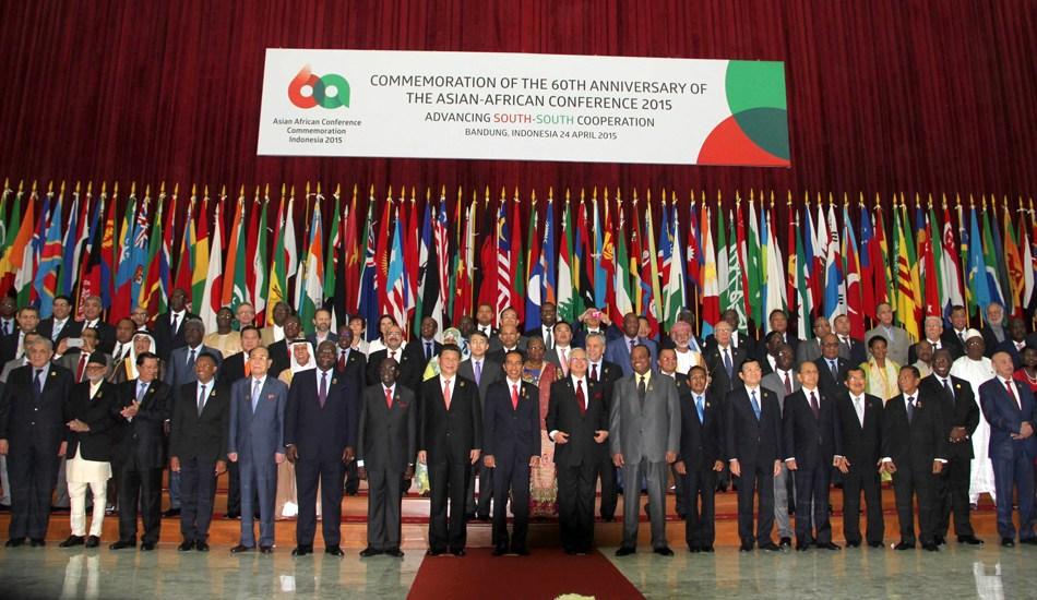 印尼万隆亚非会议60周年纪念大会开幕