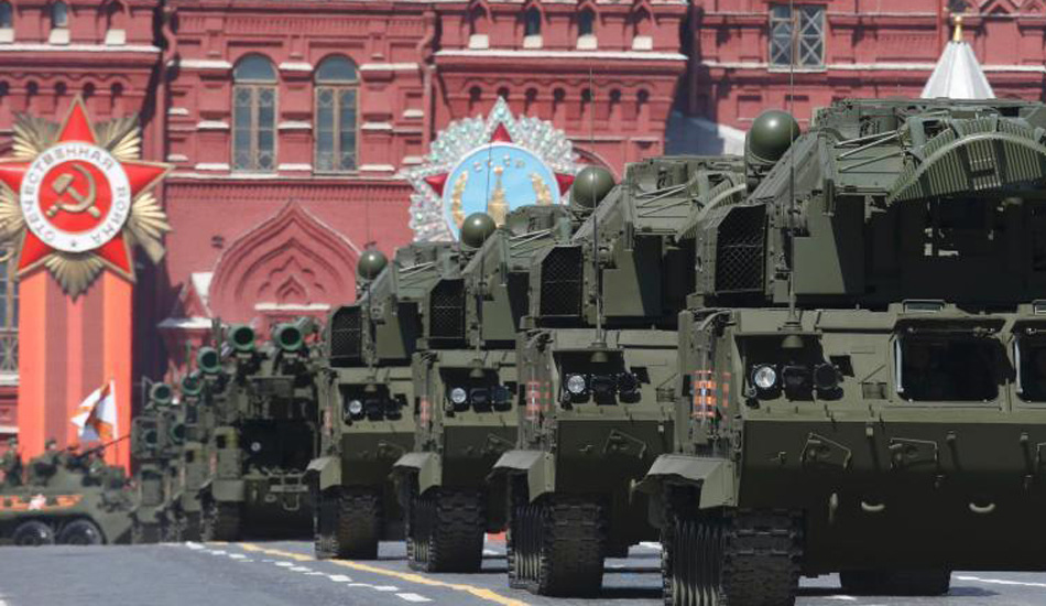 俄罗斯举行盛大阅兵 庆祝卫国战争胜利70周年