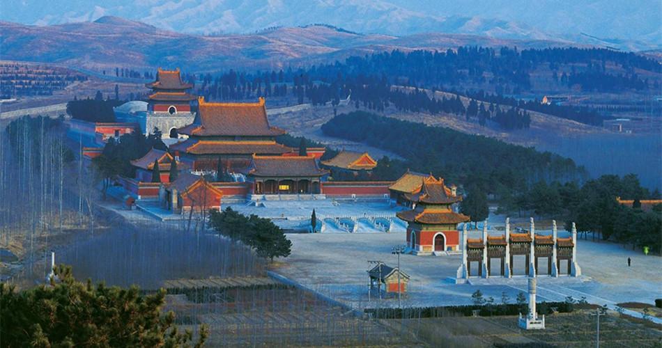 清西陵是清代自雍正时起四位皇帝的陵寝之地