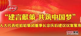 宗庆后2014年两会建议和议案