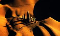 《神秘的沙漠古城》摄影:郭冀华