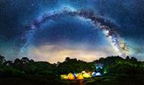 《星空下的三清宫》 摄影:陈益科