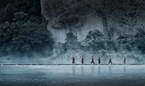 《深山雨后行道人》 摄影:江敏