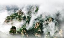 《白石山豁然崖》 摄影:齐保利
