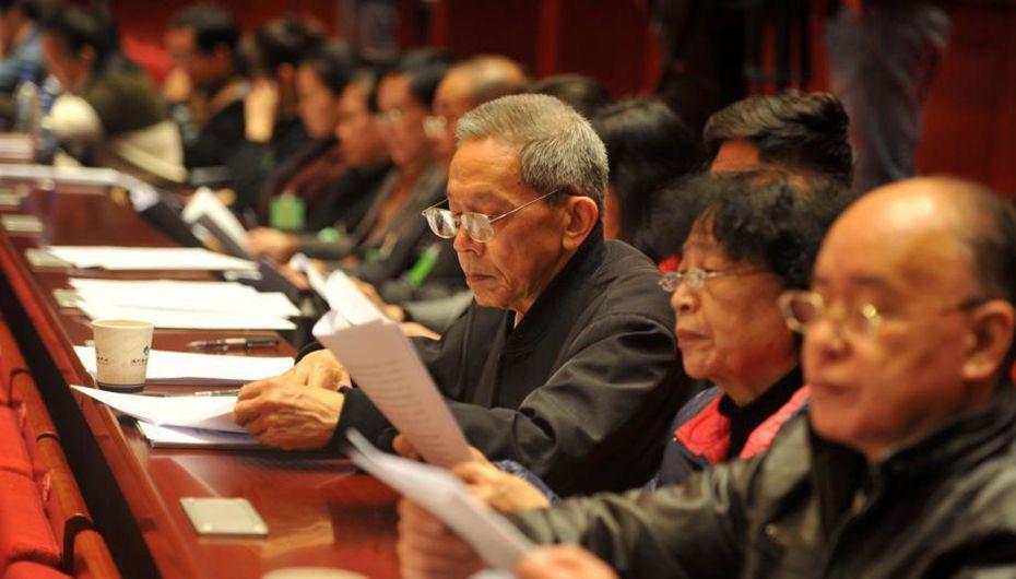 福州市十五届人大一次会议开幕 20位公民旁听