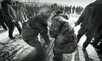 《满乡冬捕》组图 摄影:张克新
