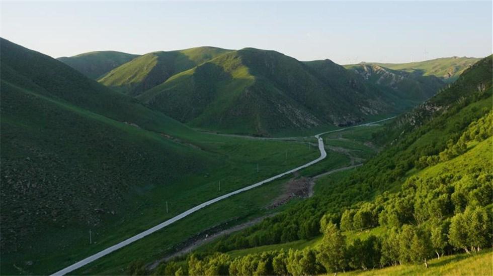 走进乌兰察布 探访黄花沟景区不一样的风情