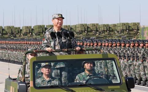 庆祝建军90周年阅兵 习近平检阅部队并发表重要讲话