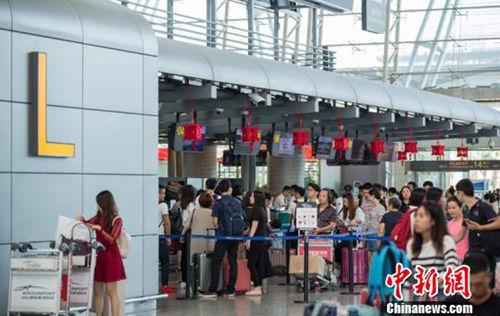 国庆假期民航运送旅客1295万人次 比去年同期增14.6%