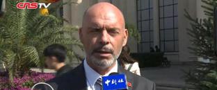 阿尔巴尼亚驻华大使:将深化基础建设领域合作