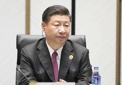 习近平在APEC领导人非正式会议上发表重要讲话
