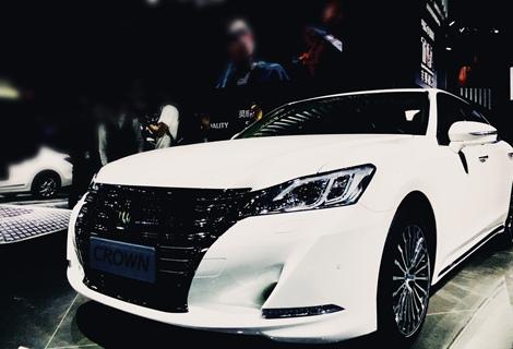 改款皇冠亮相广州车展 产品全系升级