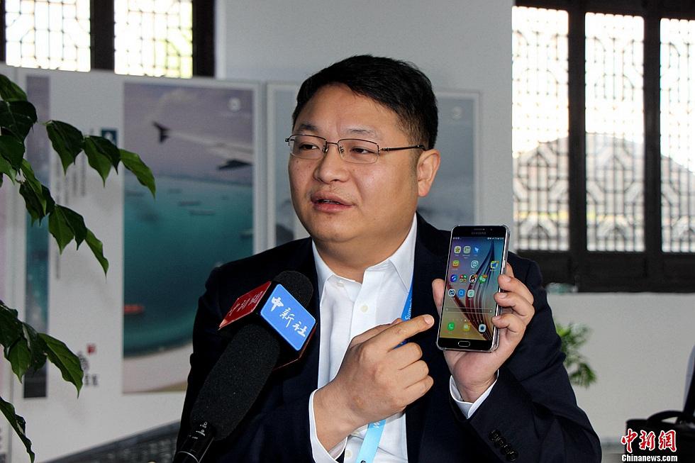 仁光创始人兼董事长谭登峰介绍智能界面