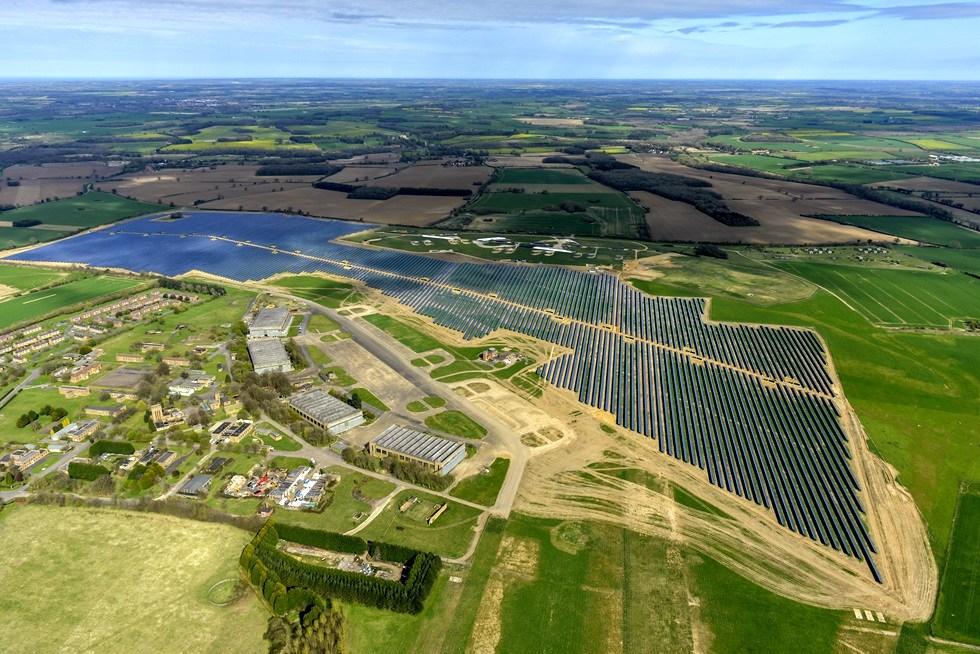 英国West Raynham 49.9MW 地面电站