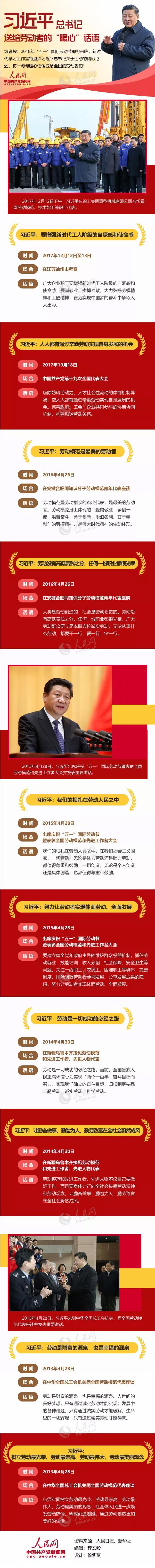 """北京赛车pk10如何玩:【图解】习近平总书记送给劳动者的""""暖心""""话语"""