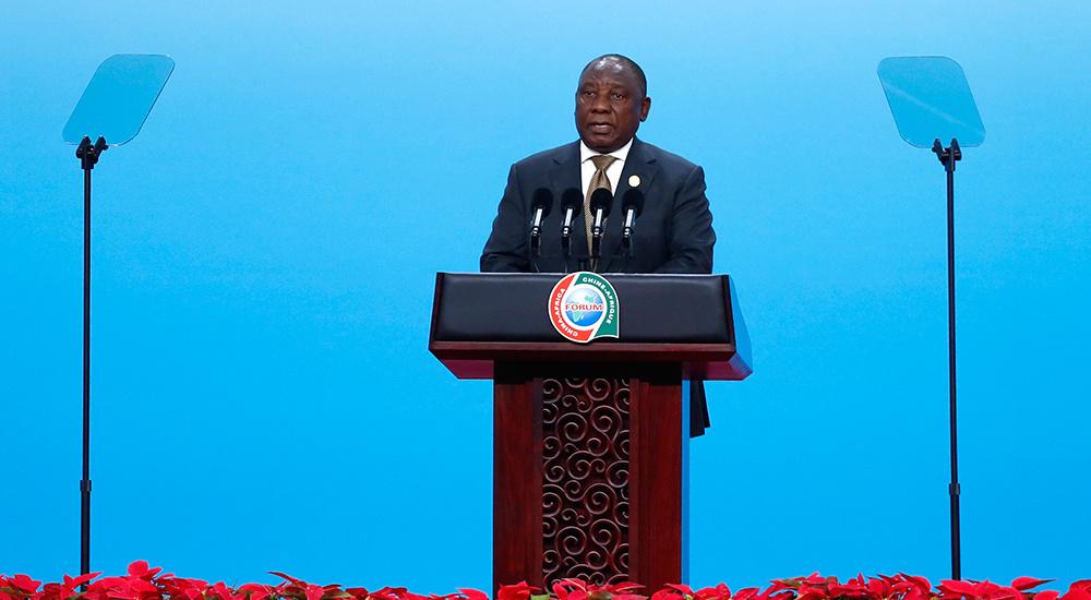 中非领导人与工商界代表高层对话会举行