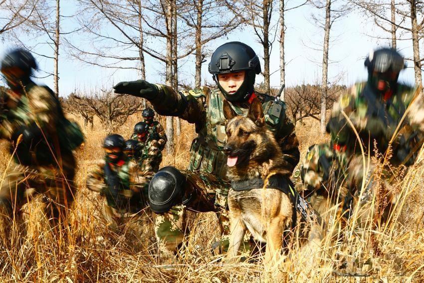 吉林边防官兵展开实战大练兵