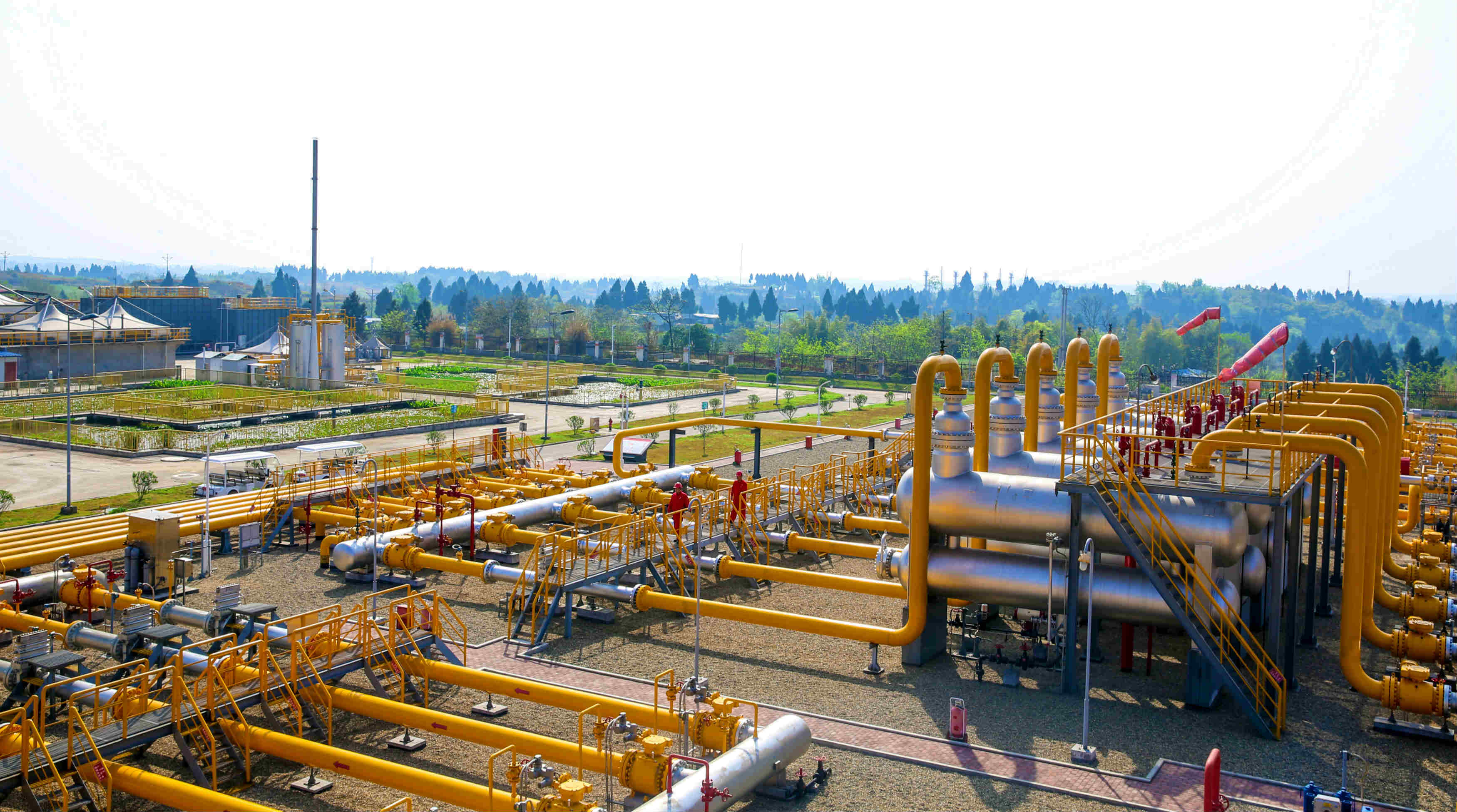 四季度计划投产新井11口 安岳气田全力保障居民冬季用气