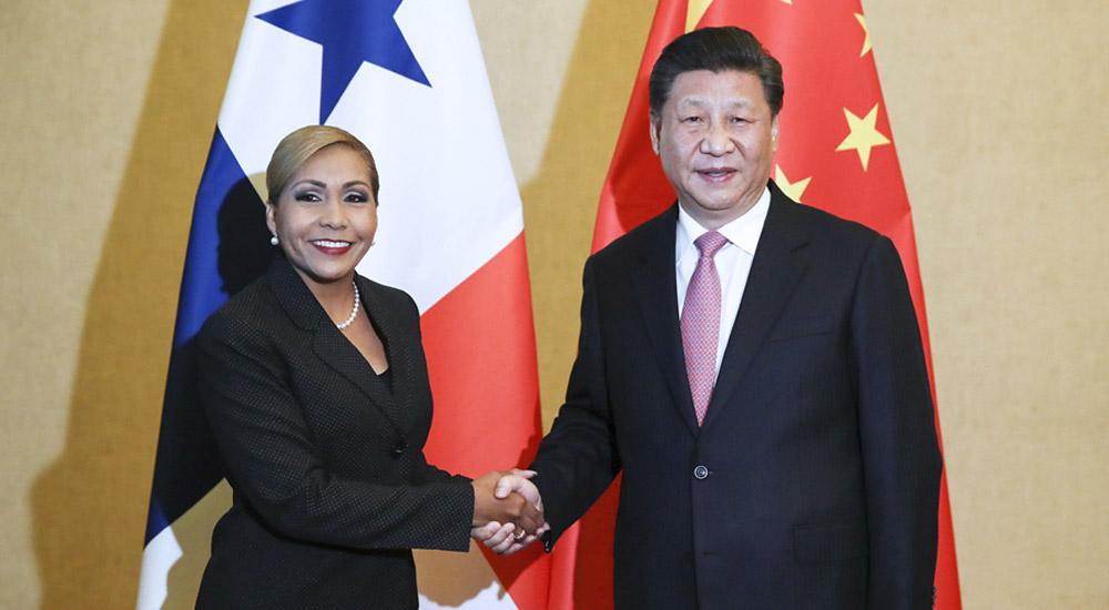 习近平会见巴拿马国民大会主席阿夫雷戈