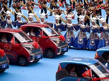 广西壮族自治区成立60周年庆祝大会举行