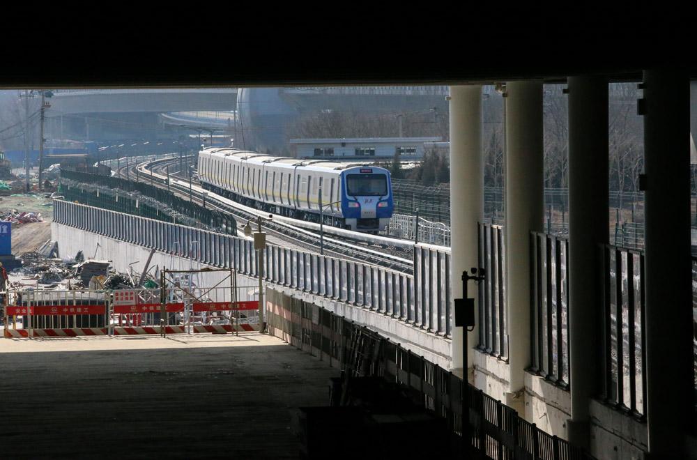 京张高铁清河站全面进入第二阶段工程施工