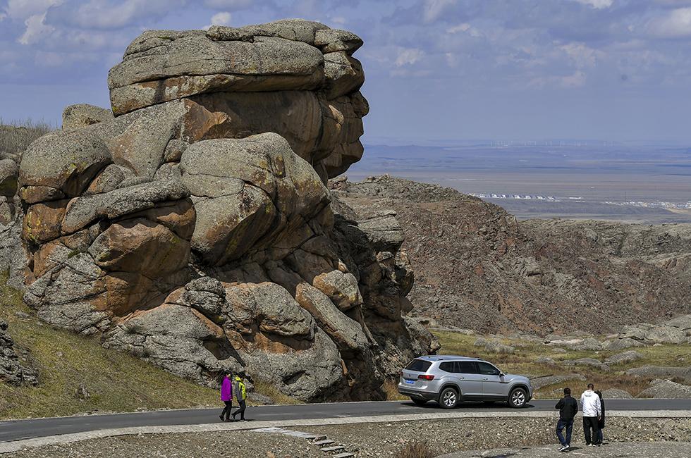 新疆吉木乃草原石城国家地质公园正式开园迎客