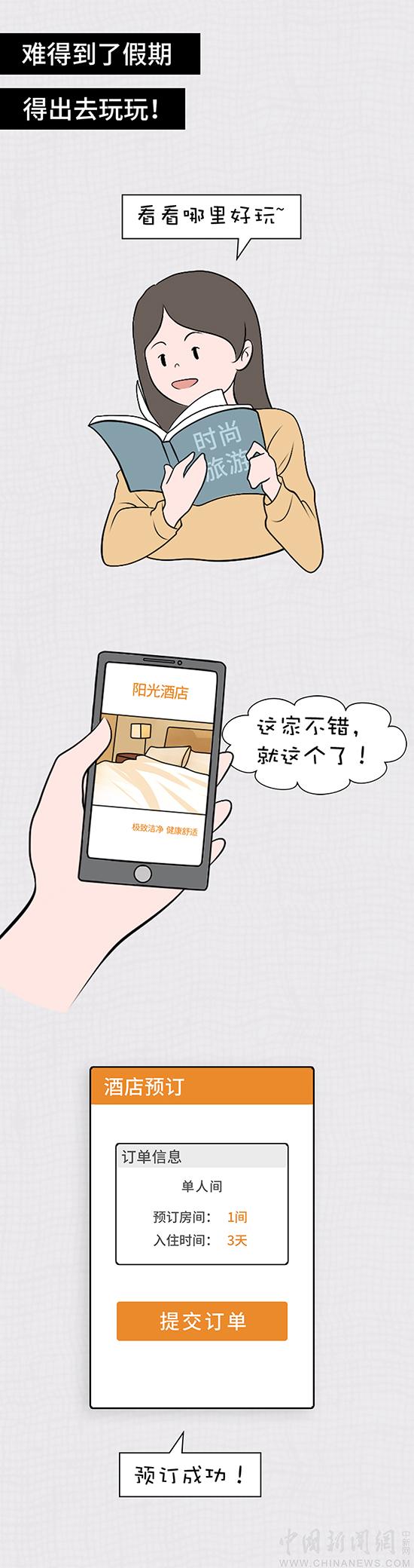 【漫画】外出住宿选择酒店,这些安全提醒千万牢记
