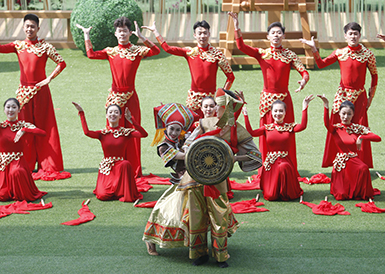 北京世园会举办中国馆日活动