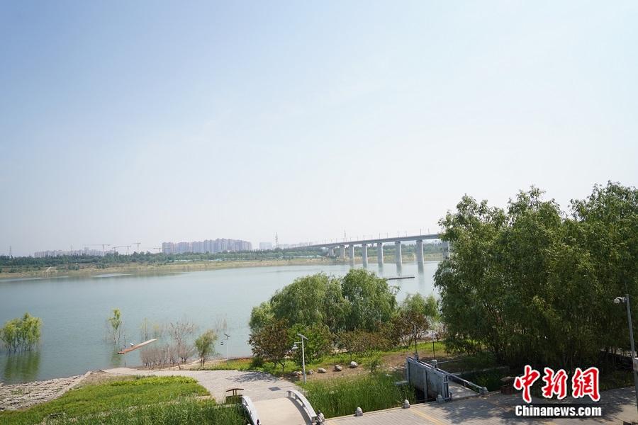 永定河美景。中新网记者 刘湃 摄