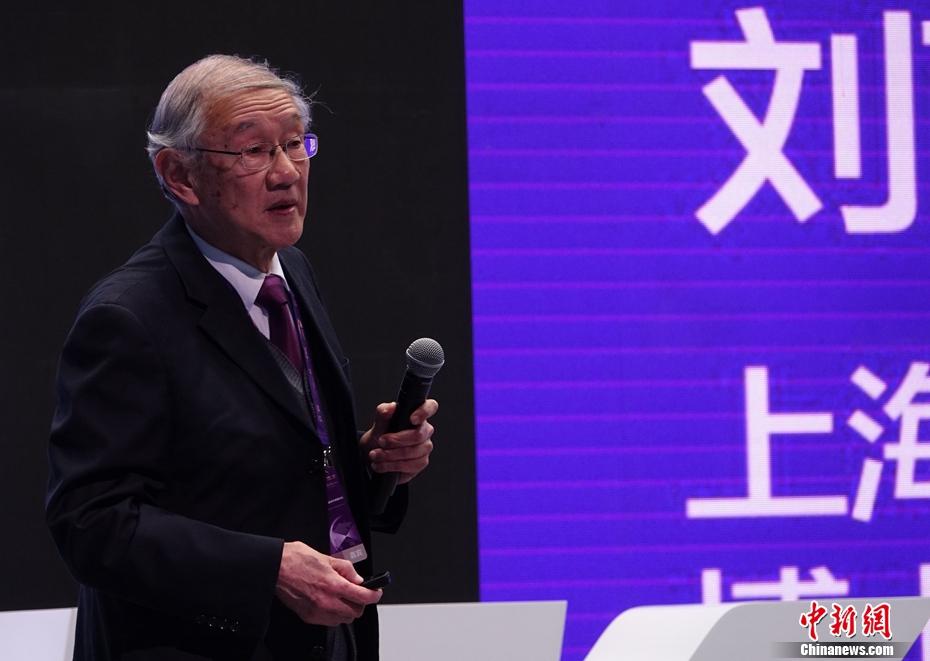 上海交通大学讲席教授刘西拉在启迪论道开讲