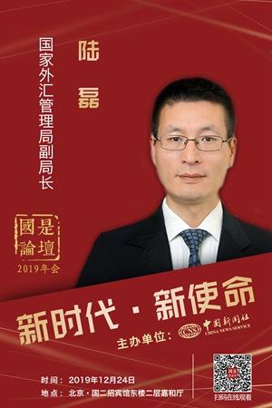 """陆磊:2019年中国外汇市场供求基本平衡 呈现四个""""稳"""""""