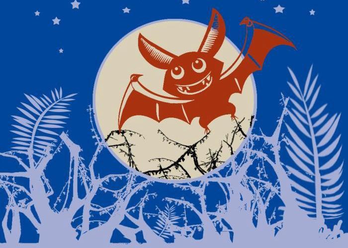 艺术家制作剪纸作品《一只蝙蝠的自述》