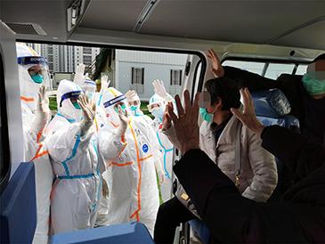 武汉雷神山医院在院治疗患者还剩47人