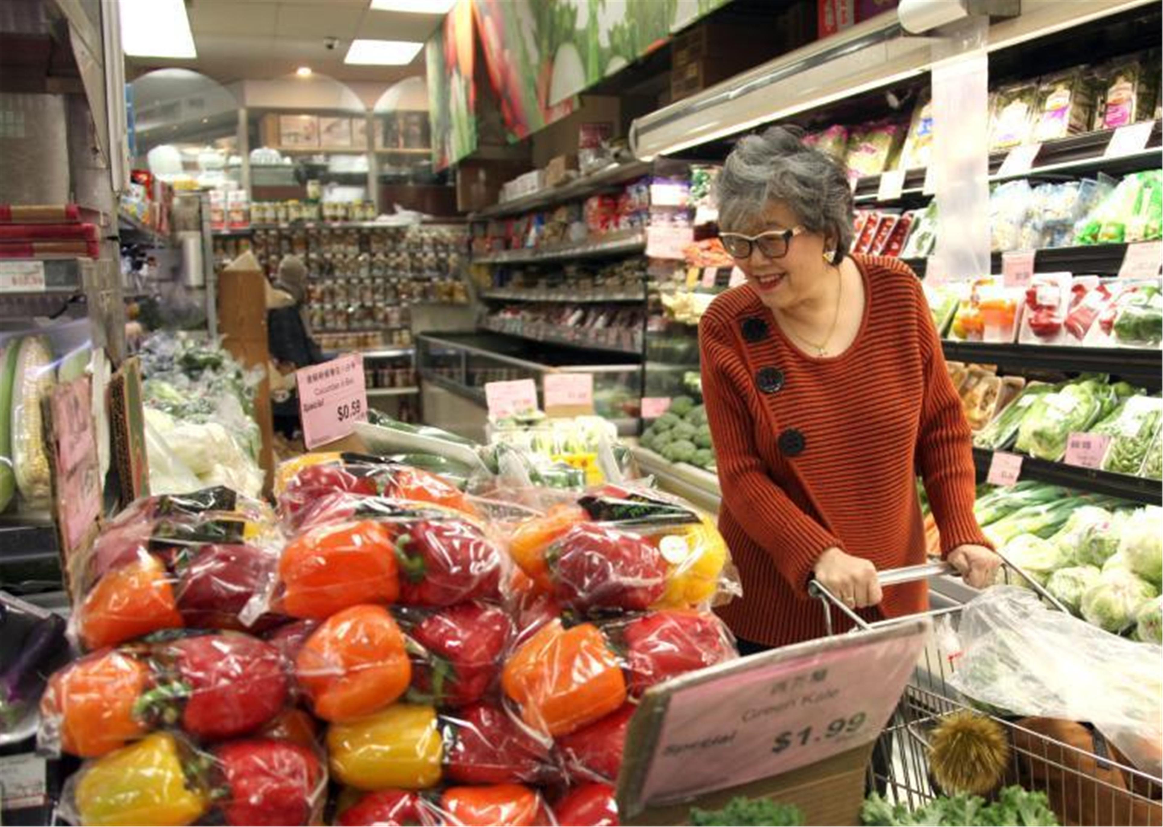 加拿大多伦多华人超市生意有所好转