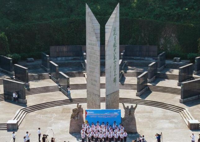 南京各界纪念抗日航空烈士