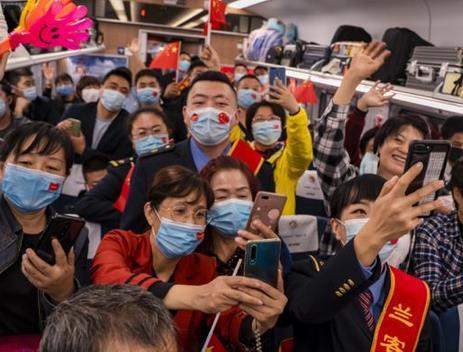 旅客乘务员同庆国庆中秋节