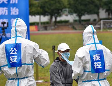 广西柳州举行新冠疫情核酸检测演练
