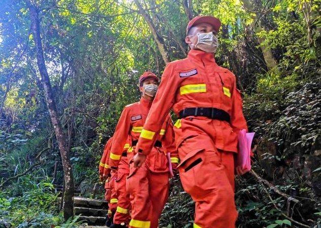 森林消防的守护