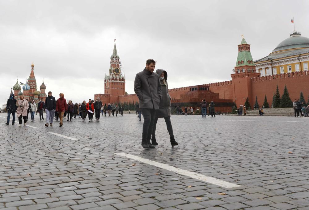 俄罗斯新冠感染者单日新增再超1.5万例