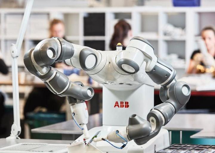 ABB将在浦东建全球最大超级机器人工厂