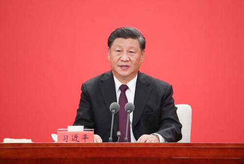 在深圳特区建立40周年庆祝大会上讲话