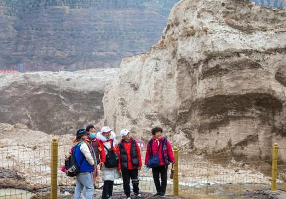 陕西黄河壶口瀑布景区恢复开园迎游客