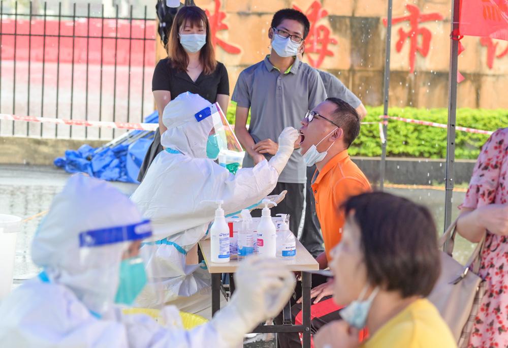 珠海新增1例无症状感染者 启动全市全员核酸检测